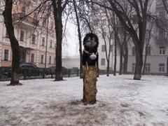 Памятник Ежику в тумане - Памятники героям мультфильмов